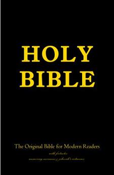 Holy Bible with Footnotes Answering Mormons And Jehovahs Witnesses  - book cover